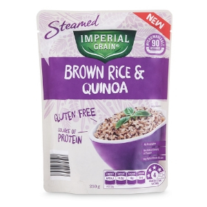 Brown Rice and Quinoa