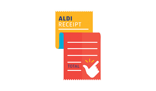 Checkout with ease in aldi