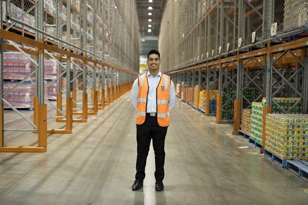 Ziegric (Ziggy) Orlovski Corporate Logistics Specialist ALDI employee since 2014