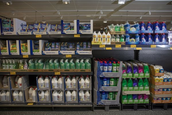 aldi cleaning products
