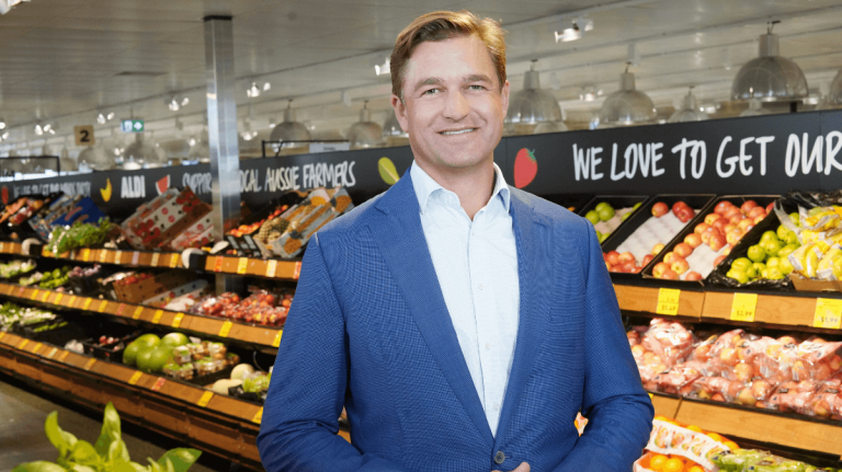 ALDI opens its doors to company's success