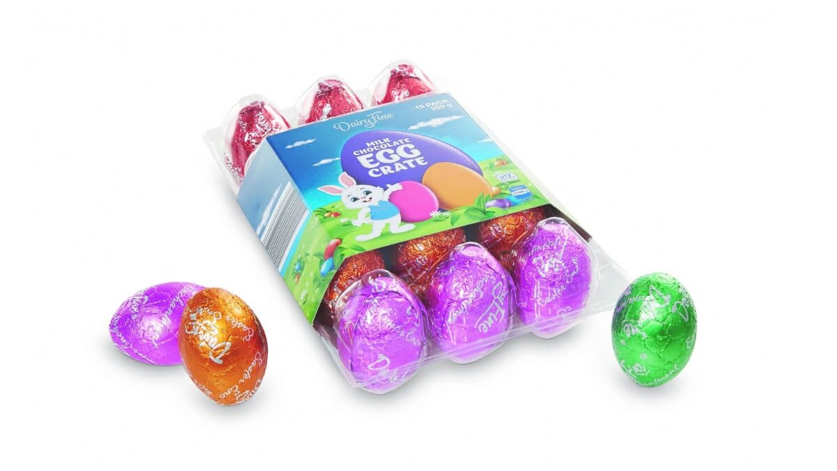 Dairy Fine Easter Crate 15 pack