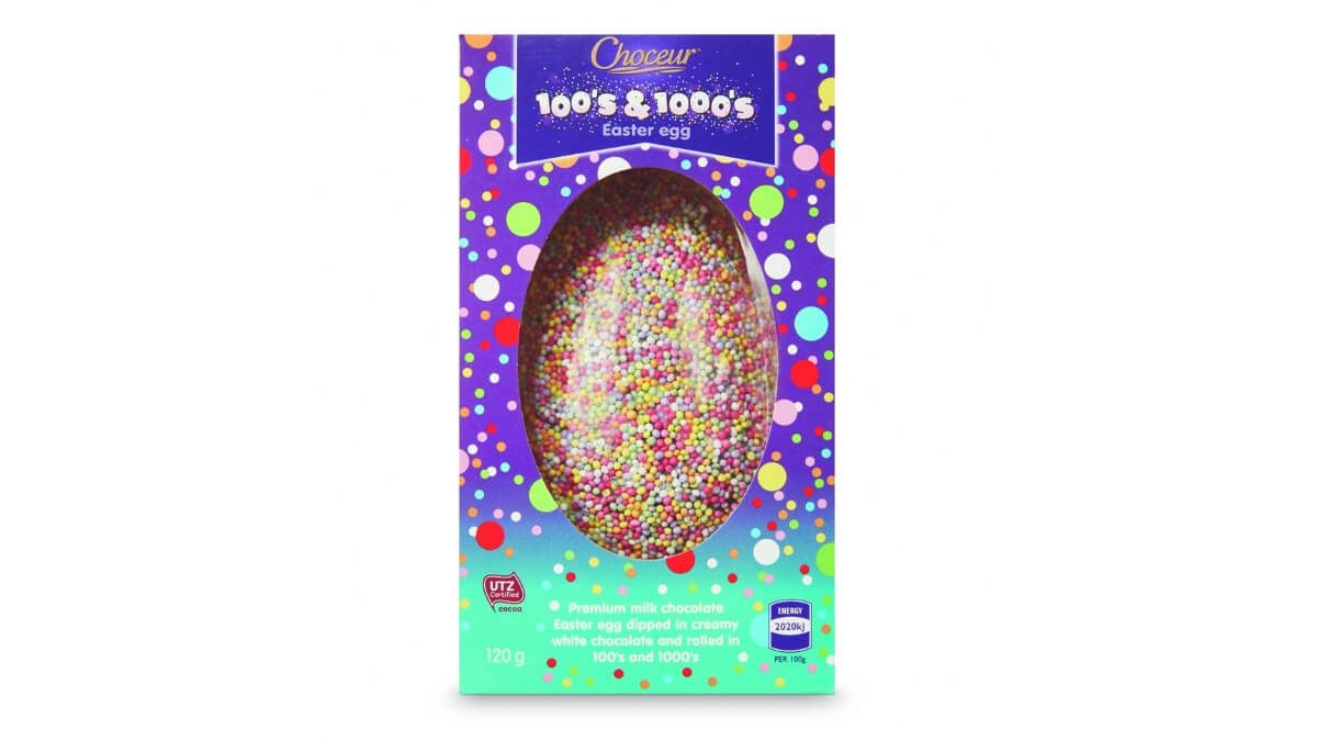 Choceur Kids 100's and 1000's Eggs