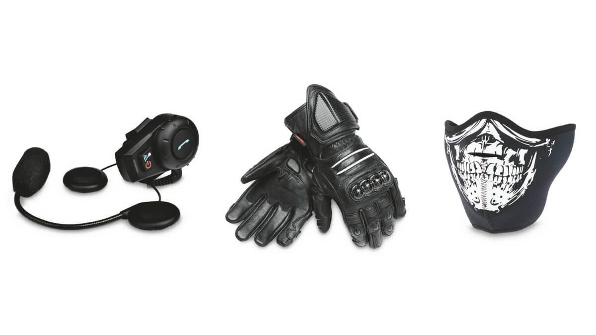Bike Safety first gloves mask