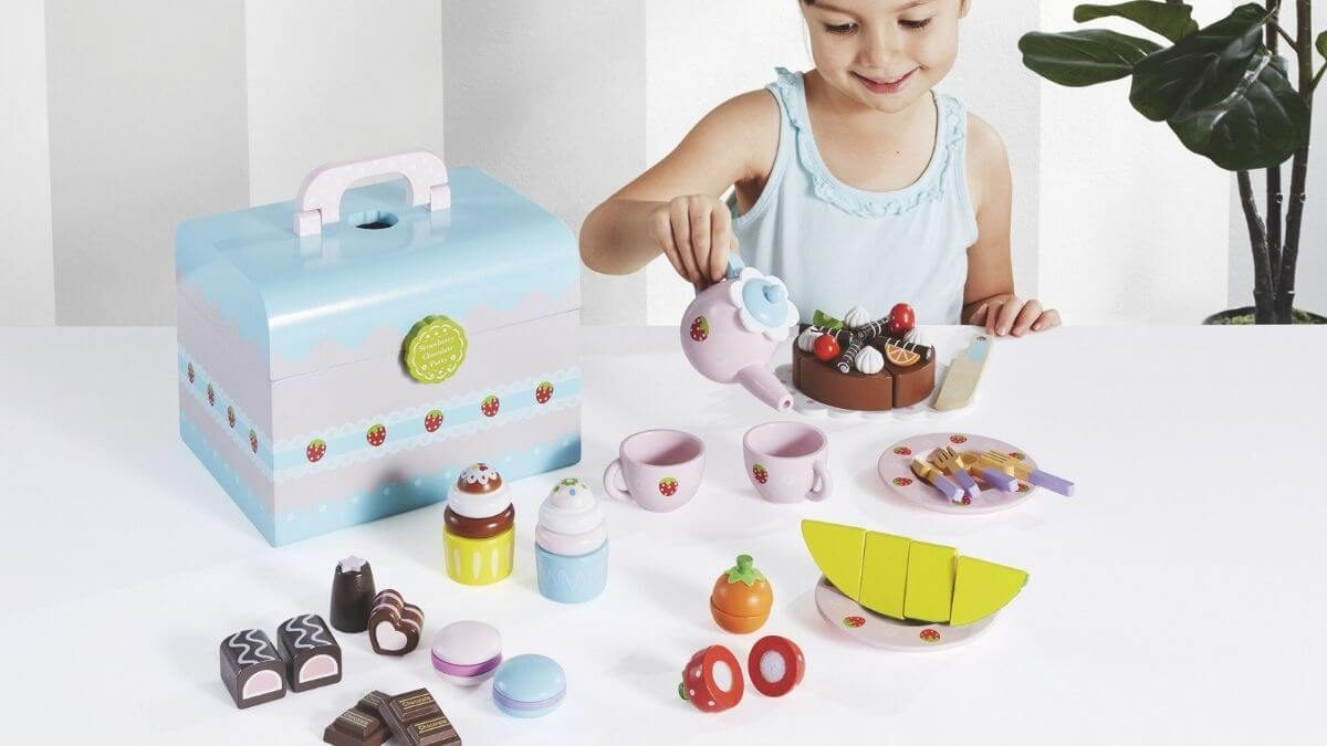 Wooden Play Food Sets