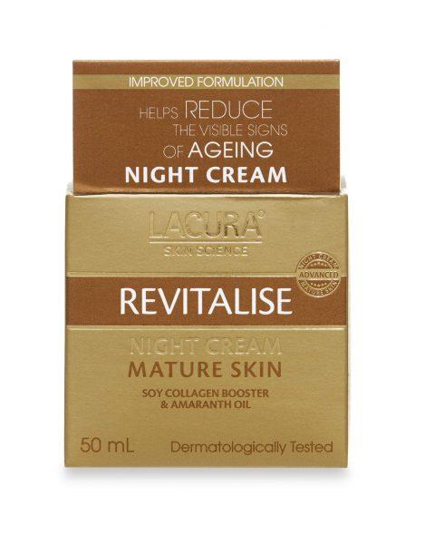 Lacura revitalise night cream