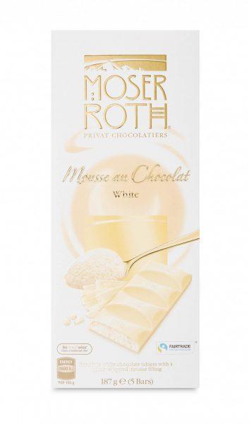 Moser Roth white chocolate