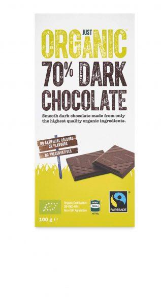 Just organic 70% dark chocolate