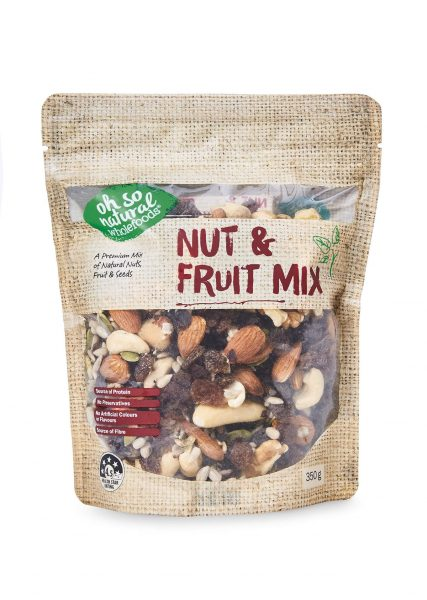 Nut and fruit mix