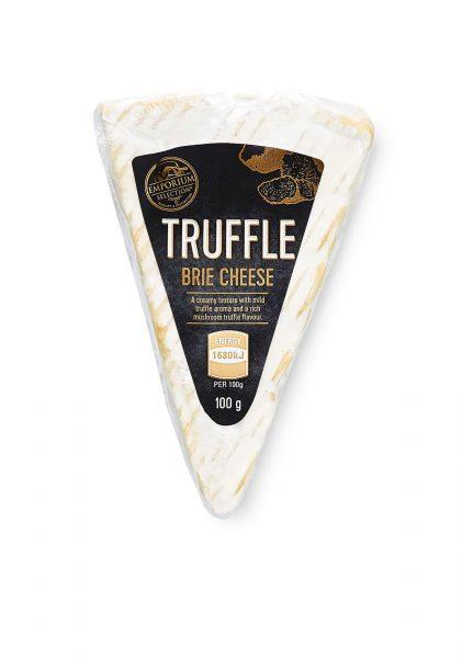 Truffle brie cheese