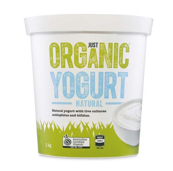 Just organic yogurt natural