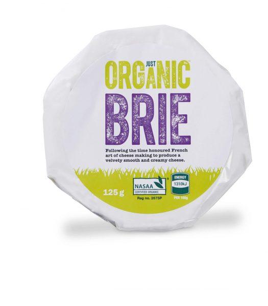 Just organic brie
