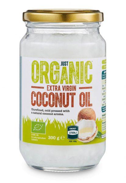 Just organic extra virgin cocunut oil