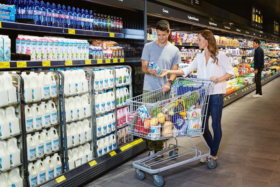 Aldi EdmonsonStore_Fridge dairy products