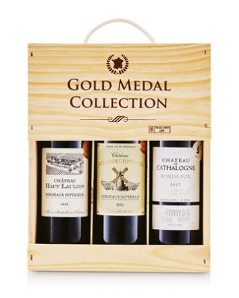 Gold Medal Collection Bordeaux Wine Gift Pack