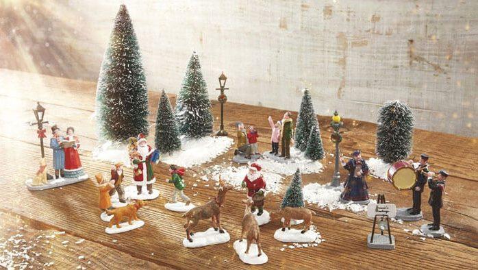 Lemax Christmas Musical Village Scenes