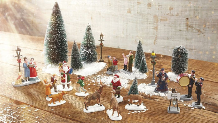 Lemax Christmas Musical Village Scenes