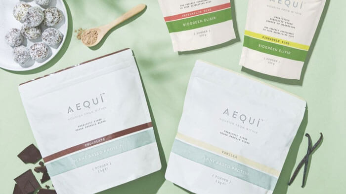 AEQUI products to nourish your body