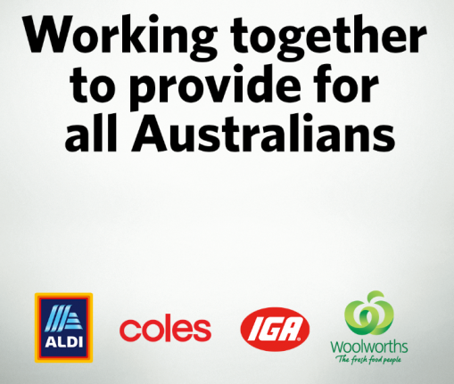 Working Together To Provide For All Australians