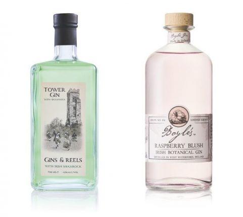 Tower Shamrock Irish And Boyles Raspberry Blush Gins