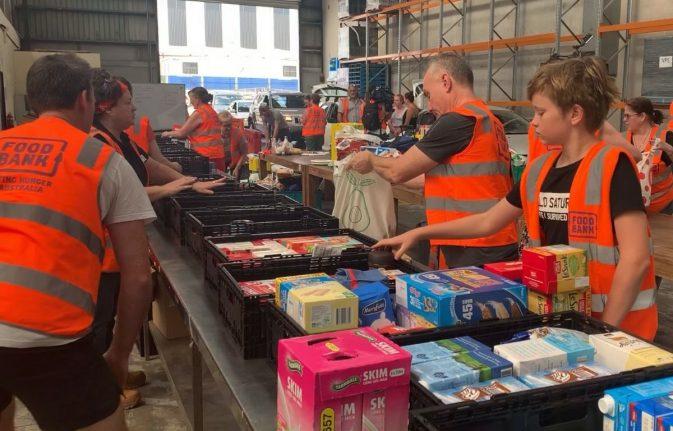 ALDI and Foodbank bushfire support