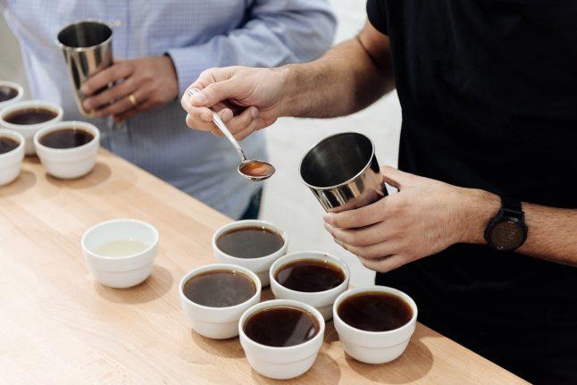 Black Bag Roasters coffee tasting