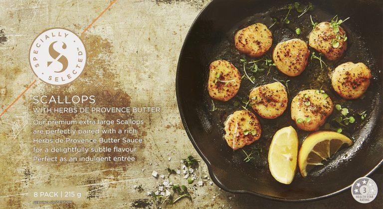 Frozen Scallops With Herbs De Provence Butter