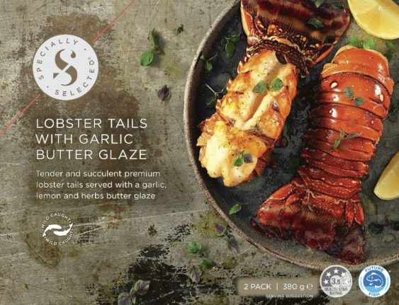 Lobster Tails With Garlic Butter Glaze