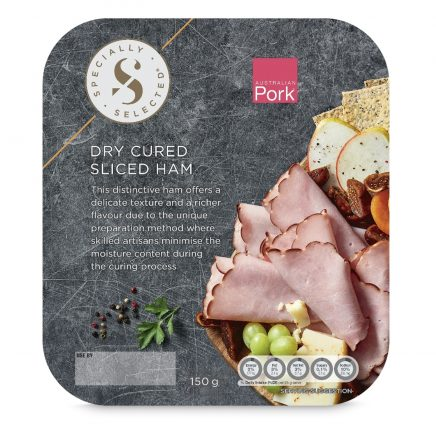 Specially Selected Dry Cured Sliced Ham