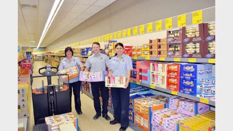 ALDI opened 40 new stores in 2013 (pictured - ALDI Parkes, NSW) - 2