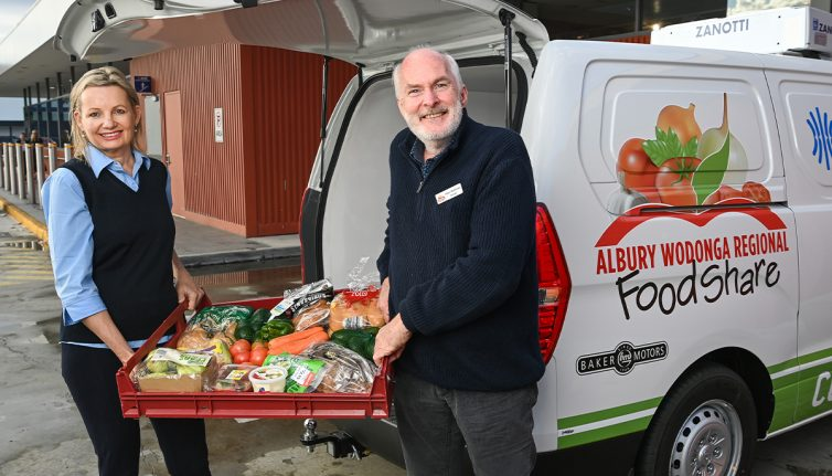 Minister Sussan Ley and FoodShare