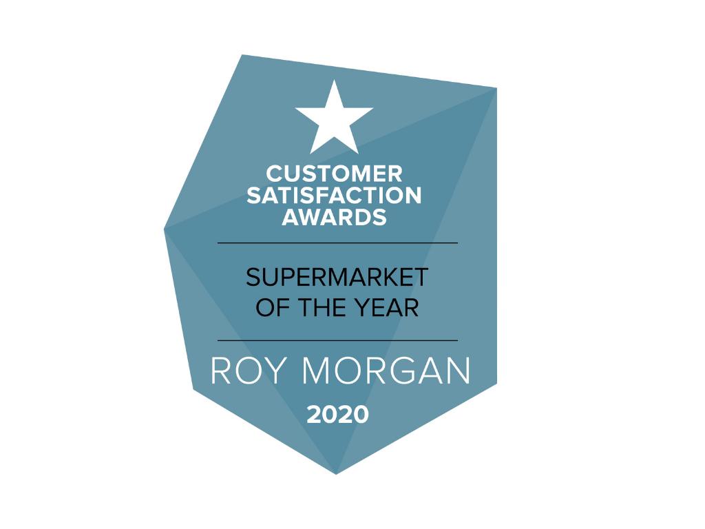 ALDI named Best Supermarket in Roy Morgan's Customer Satisfaction Awards