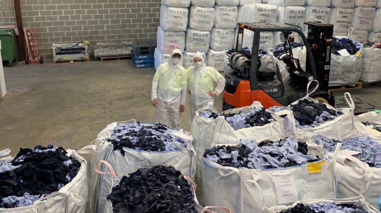 ALDI's pre-loved employee uniforms sustainably repurposed