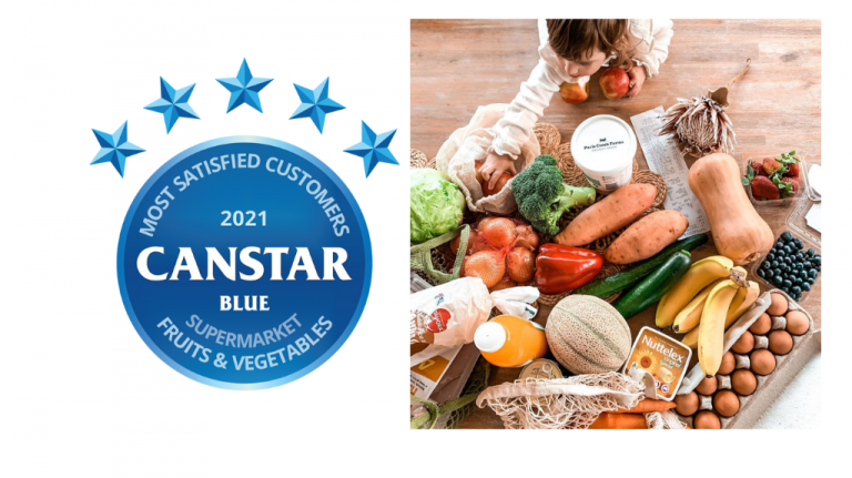 ALDI Australia has been awarded Canstar Blue's Most Satisfied Supermarket Fruits & Vegetables